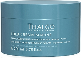 Voňavky, Parfémy, kozmetika Regeneračný nasytený krém na telo - Thalgo Cold Cream Marine Deeply Nourishing Body Cream