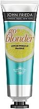 Voňavky, Parfémy, kozmetika Spevňujúca maska pre oslabené vlasy - John Frieda Sheer Blonde Go Blonder Lemon Miracle