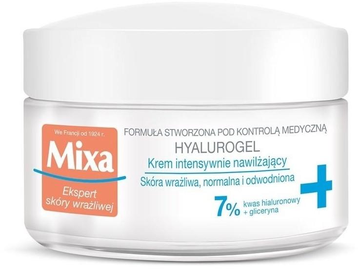 Hydratačný gélový krém na tvár - Mixa Sensitive Skin Expert Hyalurogel
