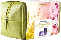 Voňavky, Parfémy, kozmetika Sada - Matis Bouquet Divin (f/cr/50ml + f/fluid/30ml + bag)