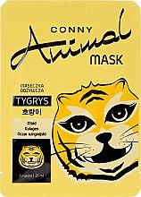 """Voňavky, Parfémy, kozmetika Výživná maska na tvár """"Tiger"""" - Conny Animal Mask Tygrys"""