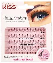 Voňavky, Parfémy, kozmetika Falošné mihalnice, trsy - Kiss Haute Couture Natural Premium Lashes