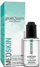 Voňavky, Parfémy, kozmetika Glykolové peelingové sérum na tvár - PostQuam Med Skin Glycolic Peeling Serum