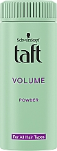 """Voňavky, Parfémy, kozmetika Styling-púder na vlasy """"Instant volume"""" - Schwarzkopf Taft Volumen Powder"""