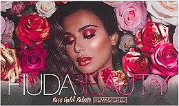 Voňavky, Parfémy, kozmetika Paleta očných tieňov - Huda Beauty Rose Gold Palette (Ruby)