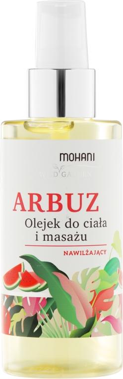 "Hydratačný telový olej a masáž ""Meloun"" - Mohani Wild Garden Oil"