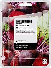 "Voňavky, Parfémy, kozmetika Textilná maska na tvár ""Cvikla"" - Superfood For Skin Moisturizing Sheet Mask"