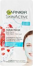 Voňavky, Parfémy, kozmetika Hydratačná aqua tvárová maska - Garnier SkinActive Aqua Mask
