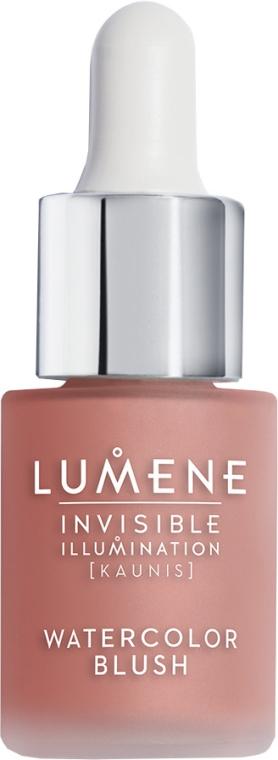Starostlivá tekutina-červeň - Lumene Invisible Illumination Watercolor Blush