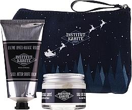 Voňavky, Parfémy, kozmetika Sada - Institut Karite Men Shea (f/cr/50ml + ash/balm/75ml + bag)