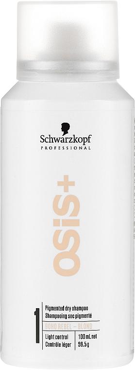 Suchý šampón pre blondínky - Schwarzkopf Professional Osis+ Boho Rebel Blond