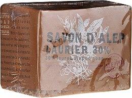 Mydlo Aleppo s vavrínovým olejom 30% - Tade Aleppo Laurel Soap 30% — Obrázky N1