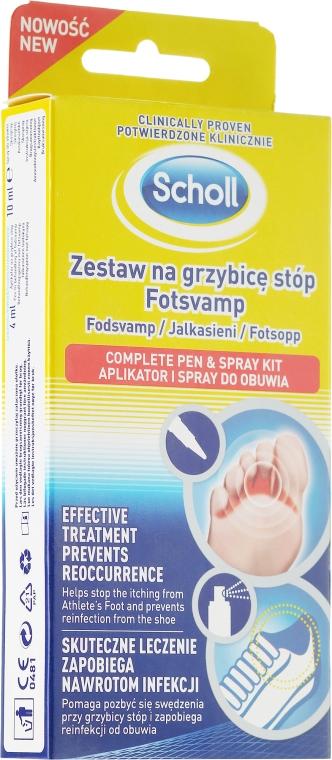 Sada - Scholl Fotsvamp (f/cr/4ml + f/spray/10ml)