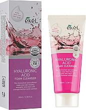 Voňavky, Parfémy, kozmetika Čistiaca pena s kyselinou hyalurónovou - Ekel Hyaluronic Acid Foam Cleanser