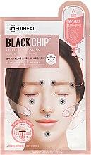 """Voňavky, Parfémy, kozmetika Látková maska na tvár """"Čierny čip"""" - Mediheal Black Chip Circle Point Mask"""