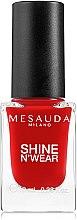 Voňavky, Parfémy, kozmetika Lak na nechty - Mesauda Milano Shine N`Wear Nail Polish