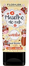 """Voňavky, Parfémy, kozmetika Anti-aging olej na ruky """"Vanilka"""" - Floslek Anti-Aging Wanilia Hand Butter"""