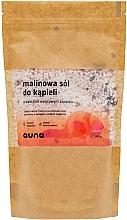 Voňavky, Parfémy, kozmetika Malinová soľ do kúpeľa - Auna Raspberry Bath Salt