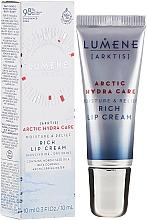Voňavky, Parfémy, kozmetika Hydratačný krém na pery - Lumene Arctic Hydra Care [Arktis] Rich Lip Cream