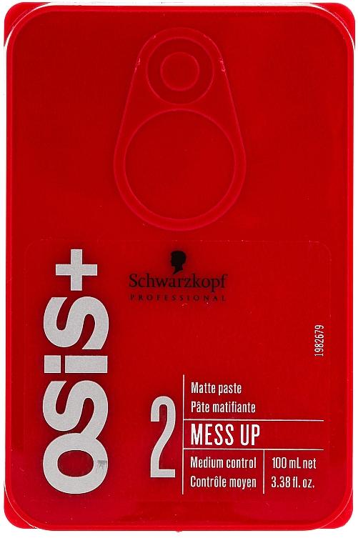 Vosk na vlasy s matným efektom - Schwarzkopf Professional Osis+ Mess Up Matt Gum