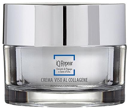 Krém na tvár s kolagénom - Fontana Contarini iQ Repair Collagen Face Cream