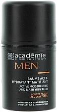 Voňavky, Parfémy, kozmetika Aktívny hydratačný matujúci balzam - Academie Men Active Moist & Matifying Balm