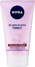 Voňavky, Parfémy, kozmetika Krémový gél pre suchú a citlivú pleť - Nivea Visage Cleansing Soft Cream Gel