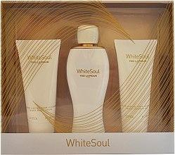 Voňavky, Parfémy, kozmetika Ted Lapidus White Soul - Sada (edp/100ml+b/cr/100ml+sh/gel/100ml)