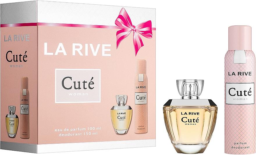 La Rive Cute Woman - Sada (edp/100ml + deo/150ml)