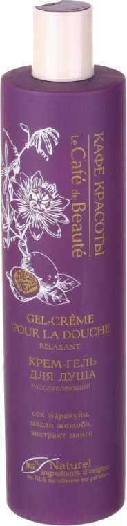 """Krémový sprchový gél """"Relaxačný"""" - Le Cafe de Beaute Relaxing Cream Shower Gel"""