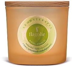 """Voňavky, Parfémy, kozmetika Vonná sviečka v pohári """"Energia"""" - Flagolie Fragranced Candle Right Energy"""