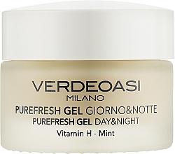 Voňavky, Parfémy, kozmetika Čistiaci a hydratačný denný a nočný gél na tvár - Verdeoasi Purefresh Gel Day&Night