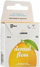 """Voňavky, Parfémy, kozmetika Zubná niť """"Citrón"""" - The Humble Co. Dental Floss Lemon"""