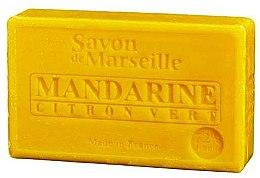 """Voňavky, Parfémy, kozmetika Prírodné mydlo """"Mandarínka a limetka"""" - Le Chatelard 1802 Soap Mandarin & Lime"""