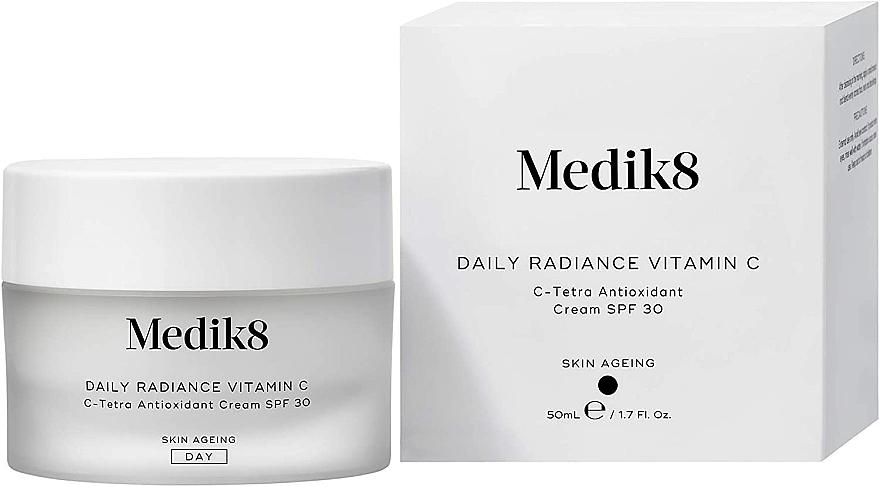 Antioxidačný krém C-Tetra SPF 30 - Medik8 Daily Radiance Vitamin C