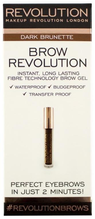 Gél na obočie - Makeup Revolution Brow Revolution Brow Gel
