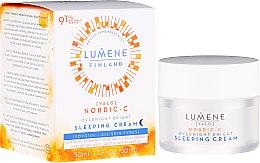 Voňavky, Parfémy, kozmetika Nočný regeneračný krém-sen - Lumene Valo Overnight Bright Vitamin C Sleeping Cream