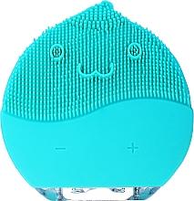 Voňavky, Parfémy, kozmetika Kefa na čistenie tváre, BR-030, modrá - Lewer Facial Cleansing Brush Blue