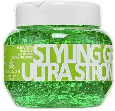 Voňavky, Parfémy, kozmetika Fixačný gél na vlasy ultrasilný - Kallos Cosmetics
