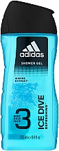 Voňavky, Parfémy, kozmetika Sprchový gél - Adidas Ice Dive Body, Hair and Face Shower Gel