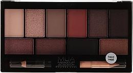 Voňavky, Parfémy, kozmetika Paleta očných tiene - MUA Elysium Eyeshadow Palette