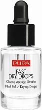 Voňavky, Parfémy, kozmetika Tekutina na sušenie laku - Pupa Fast Dry Drops