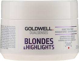 Voňavky, Parfémy, kozmetika Maska pre odfarbené a melírované vlasy - Goldwell Dualsenses Blondes & Highlights 60sec Treatment