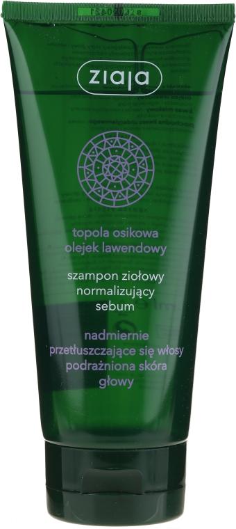 Bylinný šampón normalizujúci produkciu kožného mazu - Ziaja Shampoo