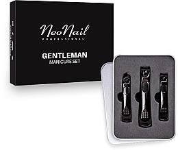 Voňavky, Parfémy, kozmetika Pánska manikúrová sada - NeoNail Professional Gentleman Manicure Set
