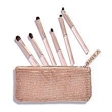 Voňavky, Parfémy, kozmetika Sada štetcov na make-up v kozmetickej taške - Nabla Denude Eye Brush Set