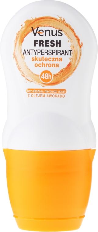 Guľôčkový dezodorant - Venus Antyperspirant Roll-On Fresh