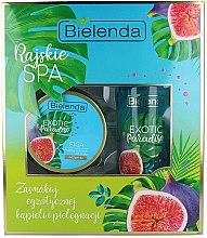 Voňavky, Parfémy, kozmetika Sada - Bielenda Exotic Paradise Figa (scrub/350g + butter/400ml)