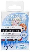 Kompaktná kefka na vlasy - Tangle Teezer Compact Styler Disney Frozen Brush — Obrázky N4