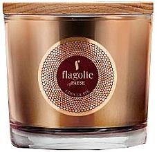 """Voňavky, Parfémy, kozmetika Vonná sviečka v pohári """"Čokoláda"""" - Flagolie Fragranced Candle Chocolate"""